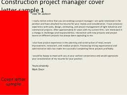 project manager cover letter project manager it cover letter