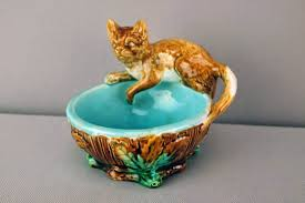 glazed and confused cat majolica fever