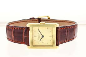 patek philippe yellow gold manual wind wristwatch ref 3475 for
