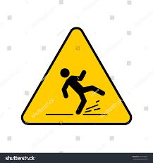 Wet Floor Images by Wet Floor Sign Yellow Triangle Falling Stock Vector 525016681