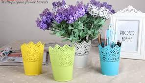 iron crown lace flower pot planter hollow out flower pots outdoor