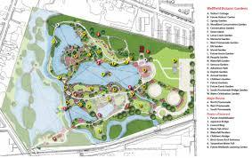 Clark Botanical Gardens Garden Map Wellfield Botanic Gardens