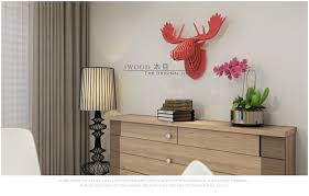 Moose Head Decor Ornament Ring Picture More Detailed Picture About Nordic Home
