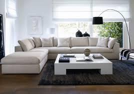 canape et salon canapé blanc du salon deco maison moderne
