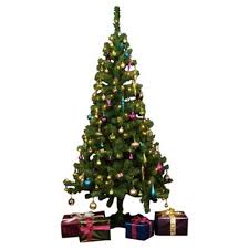 christmas tree no lights buy tesco 6ft pre lit christmas tree with warm white led lights from