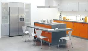 la cuisine pas chere ilot central pour cuisine ilot central cuisine bois avec naturel
