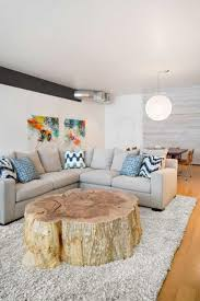 best unique diy tree trunk coffee table design inspirations wowfyy