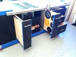 cabinet table saw for sale fabulous table saw cabinet the ultimate table saw cabinet table