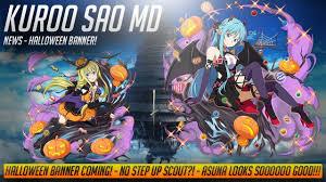 sword art online memory defrag news halloween banner no