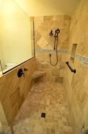 apartments marvelous images about doorless showers shower