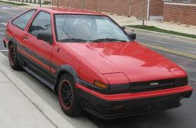 toyota corolla 1985 crucial cars toyota corolla ae86 advance auto parts