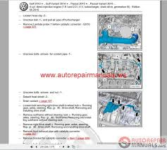 volkswagen touran 2016 workshop manuals auto repair manual forum