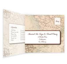 Tri Fold Wedding Invitations Template Around The World Tri Fold Wedding Invite U0026 Rsvp Sample Loving