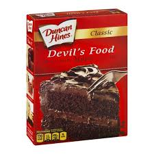 duncan hines classic devil u0027s food cake mix hy vee aisles online