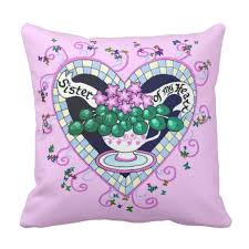 personalized pillow of my heart best friend personalized pillow zazzle