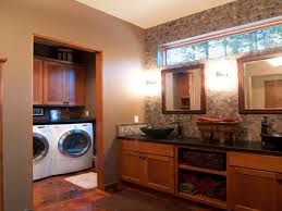 Laundry Bathroom Ideas Backyards Images About Basement Bathroom Laundry Room Ideas