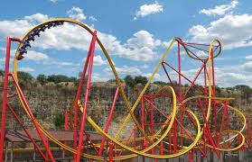 six flags to get roller coaster san