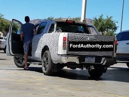 ford ranger raptor spied 2019 ford ranger hauling sand ford authority