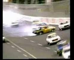 stock car crash in australia youtube