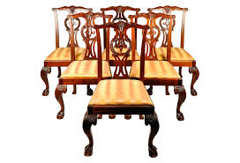 baker dining room chairs vintage set eight georgian style mahogany baker dining room chairs