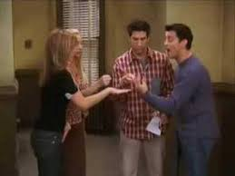 friends 1008 tow the late thanksgiving rock paper scissors