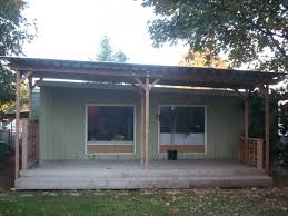 Patio Cover Plans Free Standing by Corrugated Patio Cover Note This Is Not Attached To The House The