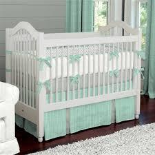 Neutral Nursery Bedding Sets Baby Nursery Decor Mint Herringbone Baby Nursery Bedding Sets