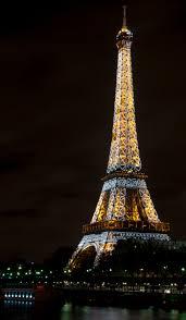 Large Eiffel Tower Statue Paris At Night Eiffel Tower And Bir Hakeim Bridge