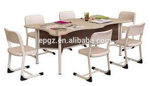 reading table and chair modern library furniture children study chairs tables wooden view