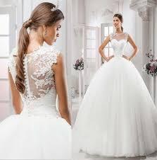 dh wedding dresses 2016 selling illusion neckline wedding dresses