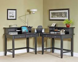 Black Corner Computer Desk With Hutch by Corner Computer Table Fascinating Corner Computer Desk Best Built