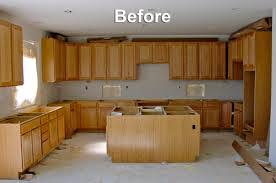 Painted Oak Kitchen Cabinets Lowes Oak Cabinets With Granite Countertops Furniture