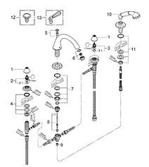 Bathroom Tub Faucet Parts Parts For Grohe Kensington Series Bath Products