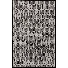 Area Rugs Saskatoon Home Decorators Collection Houndstooth Black 5 Ft X 8 Ft Area