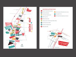 Downtown Las Vegas Map by Viva Las Vegas Allison Beilke Designs