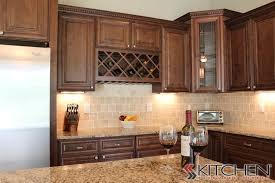 attractive chocolate glaze kitchen cabinets and chocolate glaze