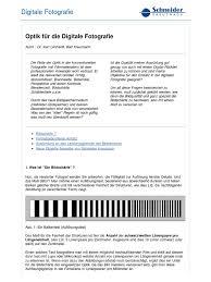 Schneider Optik Bad Kreuznach Optik Fuer Die Digitale Fotografie