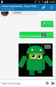simple code sle for android xmpp chat via quickblox sdk api