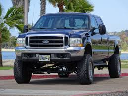 2002 ford f350 lariat crew cab 4x4 long bed lifted fox shocks 138k