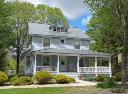 Colonial House With Farmers Porch Real Estate Property Search Litchfield Hills Hudson Valley