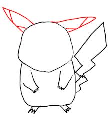 step step drawing lesson draw pikachu pokemon