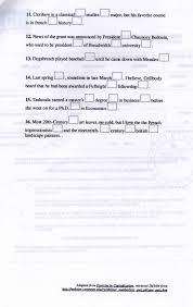 landscape writing paper writing ass 3 appendix b capitalisation worksheet