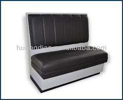 Banquette Seating Fixed Bench Fixed American Fast Food Bench Modern Furniture Restaurant Dining Wooded