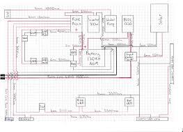 wiring diagram for caravan battery charging circuit and