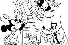 disney cartoon christmas coloring pages 476280 coloring pages