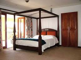 canopy beds for sale paramount king metal bed ca walnut half