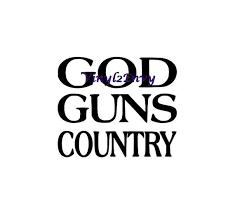 god guns country car decal vinyl car decals window decal