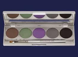 kryolan professional makeup kryolan professional make up cake eye liner set 5 colors
