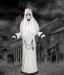 Conjuring Halloween Costumes Conjuring Varak Mask Latex Horror Fancy Dress Nuns