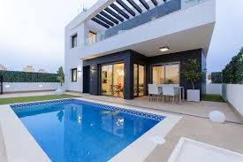 Modern Villas by Modern Villas With Private Pool For Sale In Villamartin